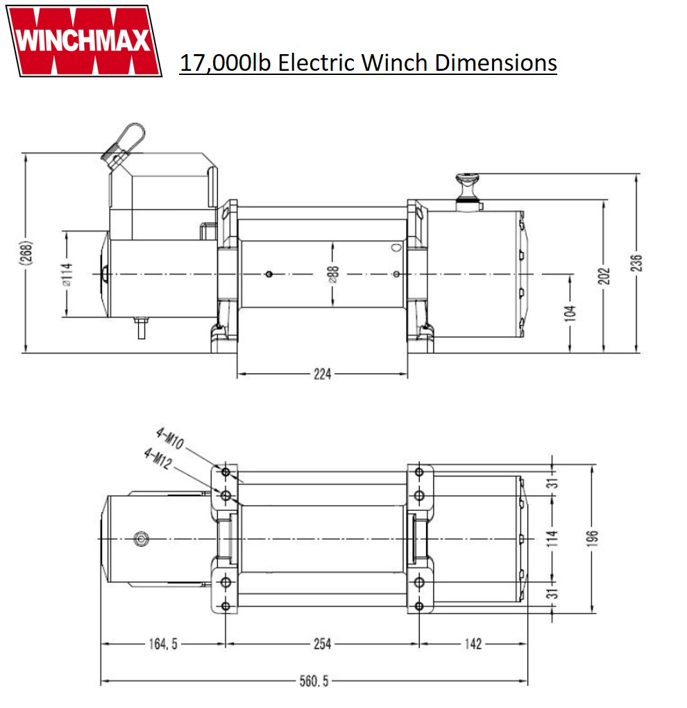 Downloads Winchmax T Max Winch Wiring Diagram Wm1700024vr Dims