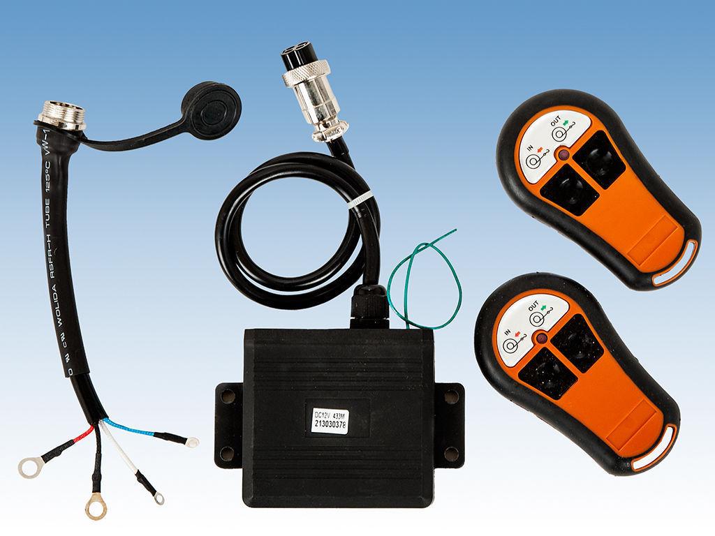 Winch Wireless Remote Control Twin Handset 12v 12 Volt
