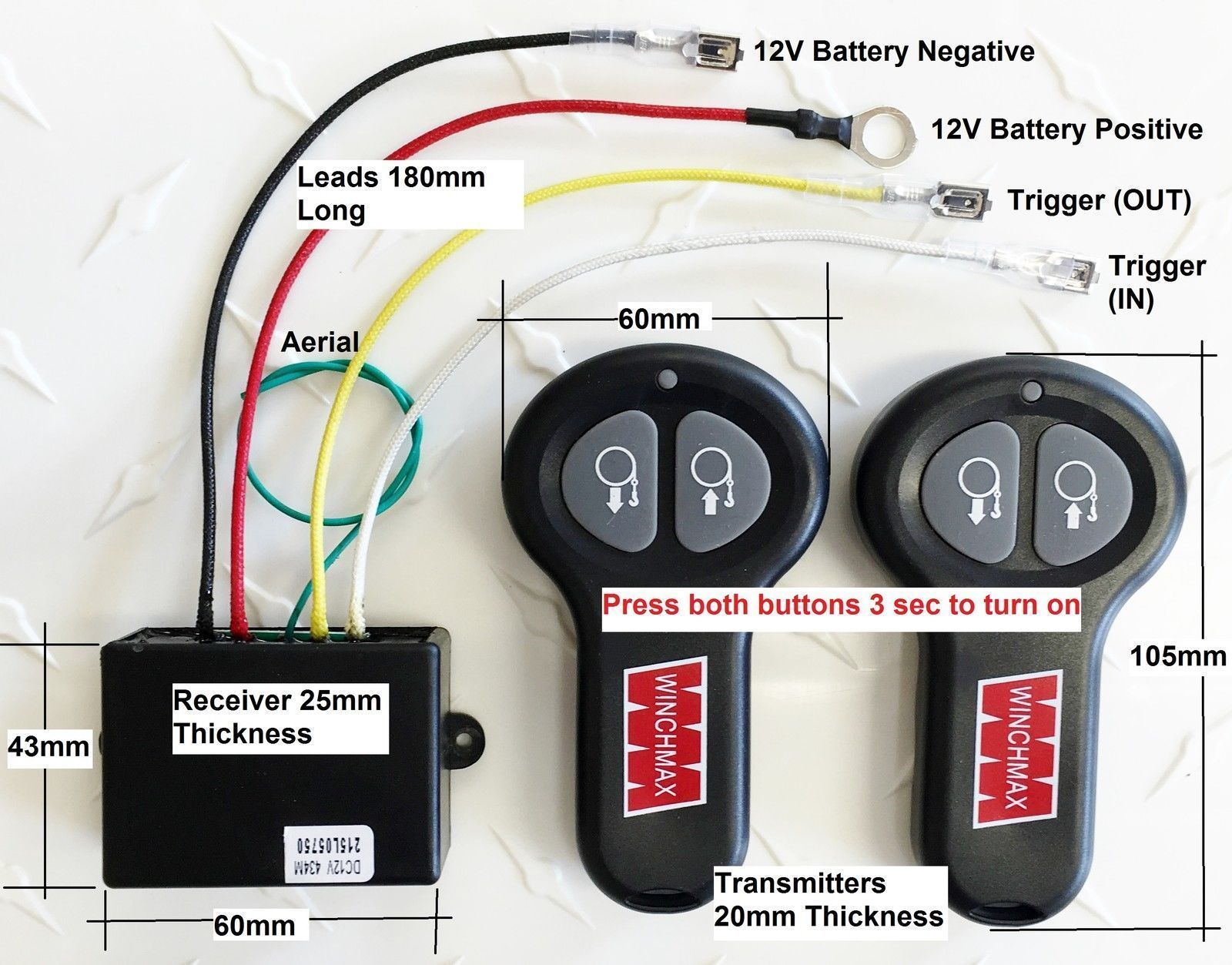 ebay___57 wireless winch remote control twin handset winchmax brand 12v 12 ebay wireless winch remote wiring diagram at bakdesigns.co