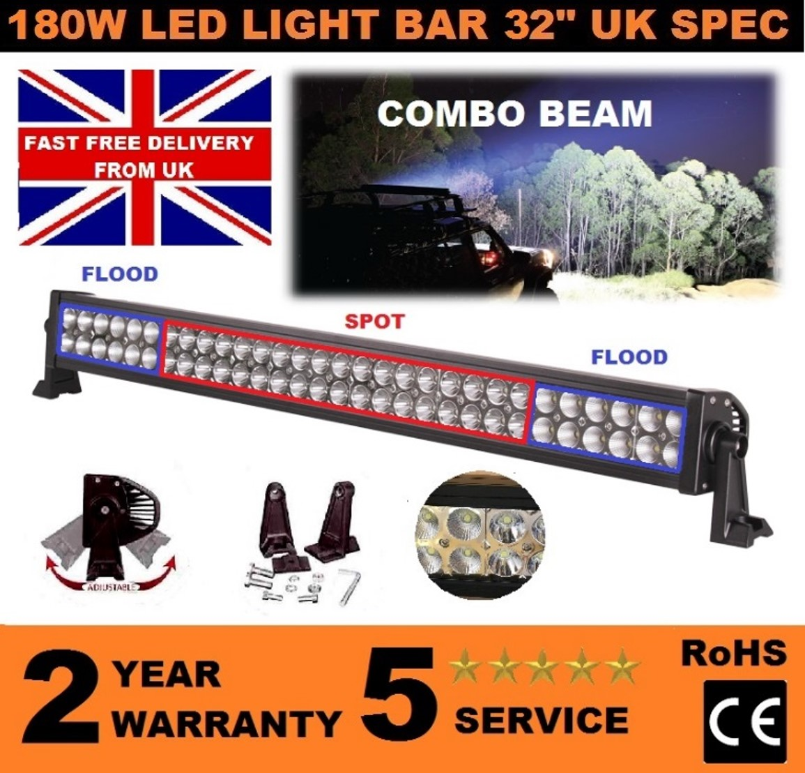 Title picture ebay 180w led 32
