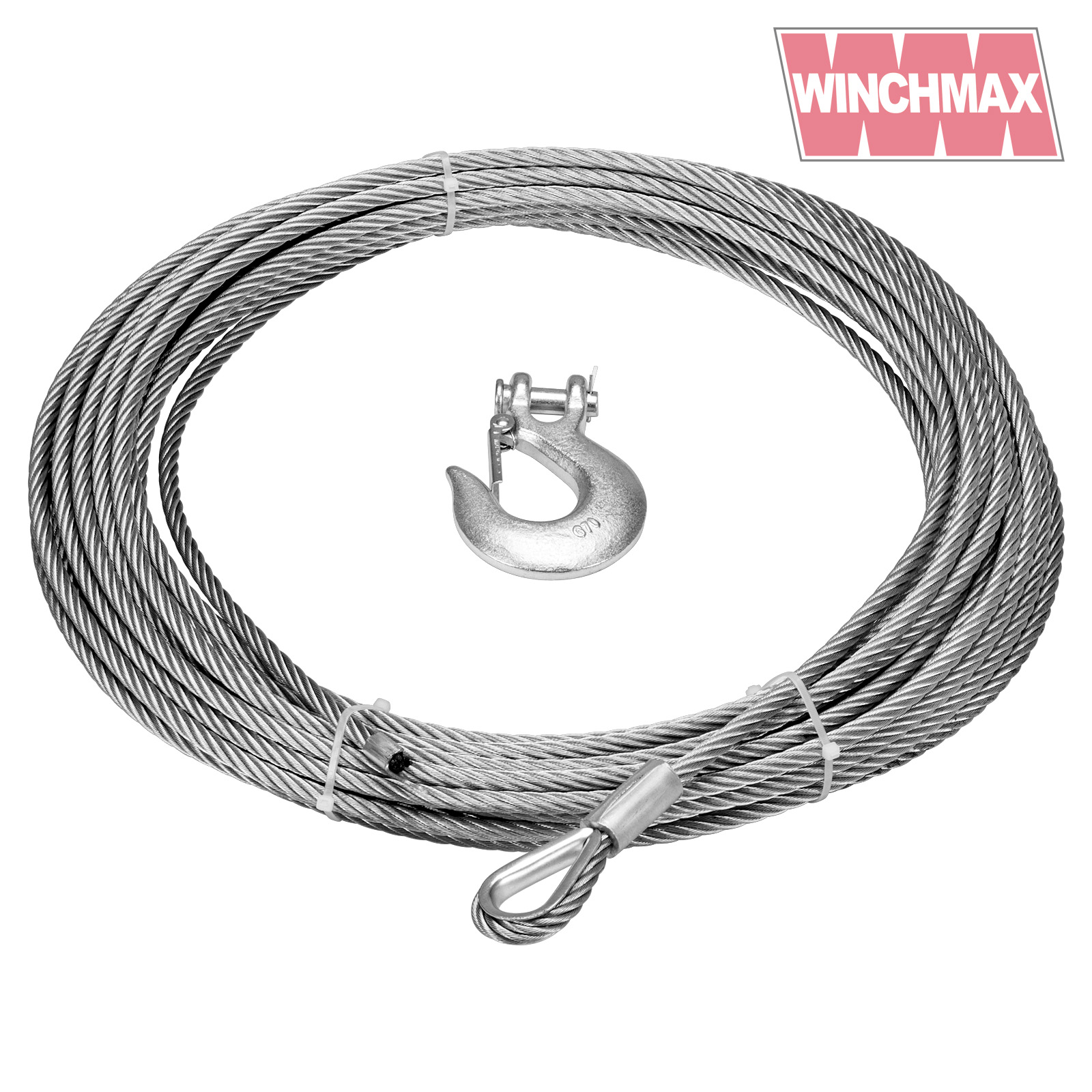 Winch Cable Wire Rope 26m X 12 Mm Suitable For Winches Up