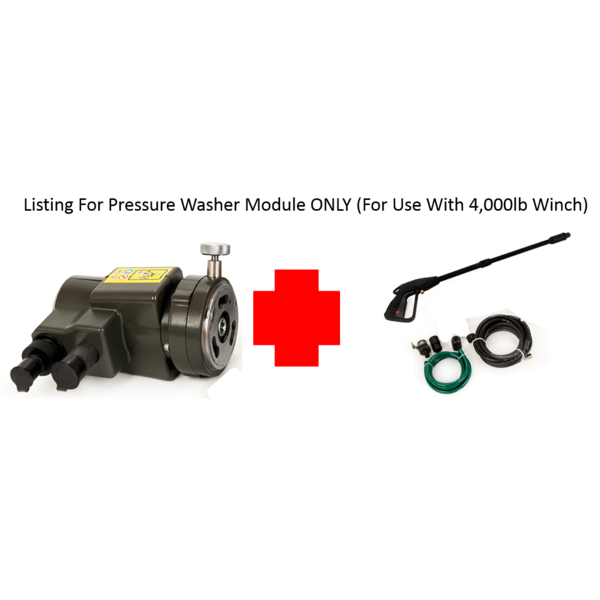 Square pressure washer module only