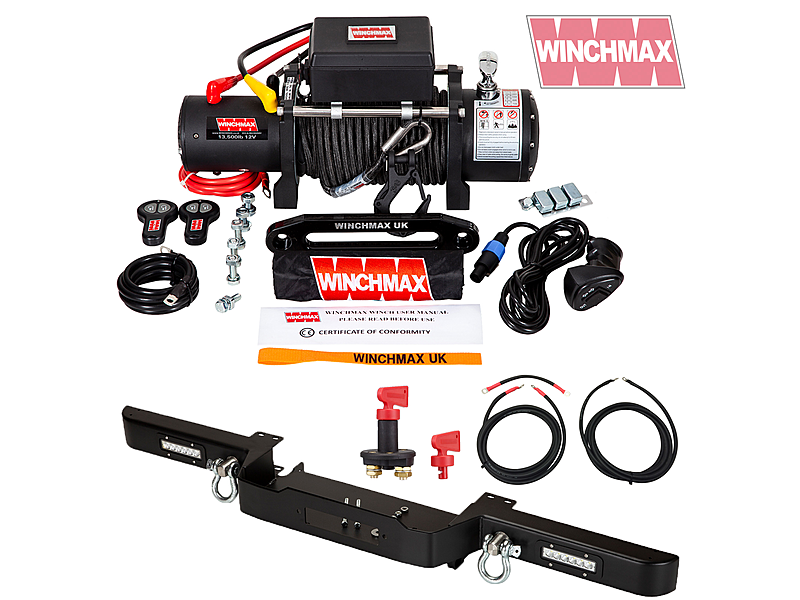 Product standard winch defender combo deal mil spec