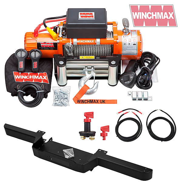 Square winch defender combo deal5